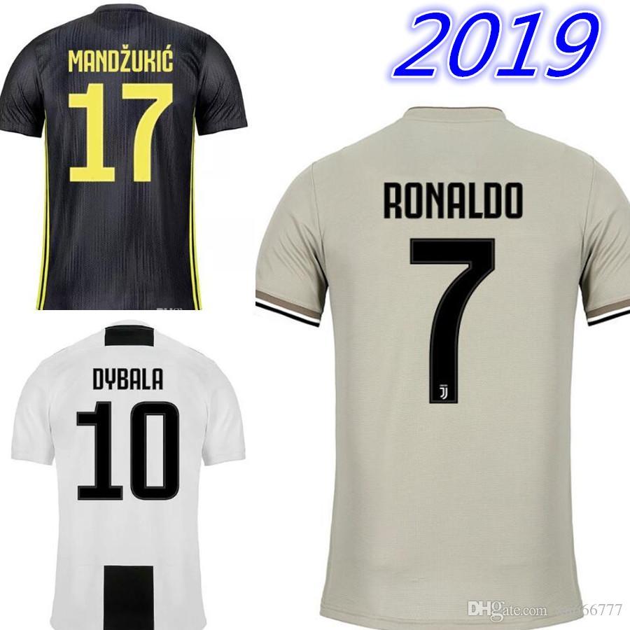 2018 18 19 RONALDO JUVENTUS Home Away Third Soccer Jersey 2019 DYBALA  HIGUAIN JUVE Maillots De Football Kit Shirt CRISTIANO Jerseys From  Xn666777 f926ebbb6