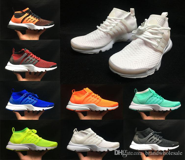 2019 High Ultra Presto Designer Casual Laufschuhe TRIPLE BLACK chaussures Atomic Mid Men Damen Luxus Trainer Marke Sport Sneakers
