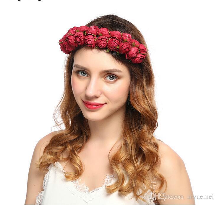 Großhandel Neue Damen Blume Haarband Haarschmuck Großhandel ...