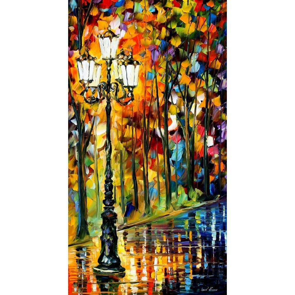 Großhandel Decoratiive Kunst Leonid Afremov Loenly Light Abstrakte ...