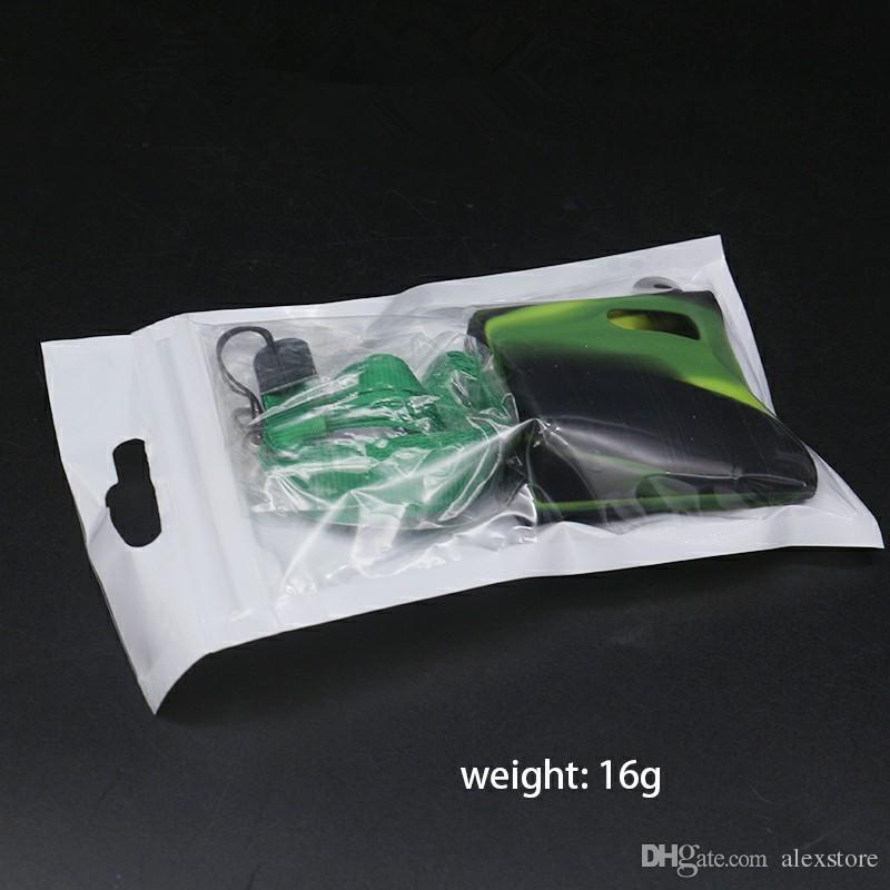 Istick Pico Funda de silicona para bebé Fundas de piel con cordón Protector de goma suave Funda de silicona Funda de piel para Eleaf Ismoka caja de kit de bebé mod