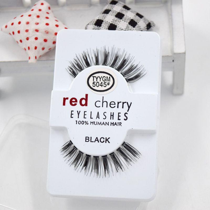 794d9fd6fd2 27 Styles RED CHERRY False Eyelashes Natural Long Eye Lashes Extension  Makeup Professional Faux Eyelash Winged Fake Lashes Wholesale 3001266  Eyelash ...