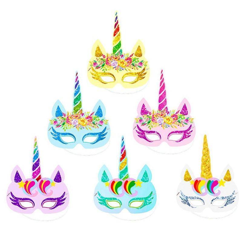 Party Cartoon Headband Hat Boy Girl Happy Birthday Decorations Baby Shower Mask Supplies Favor Make Hats From Zehanhome
