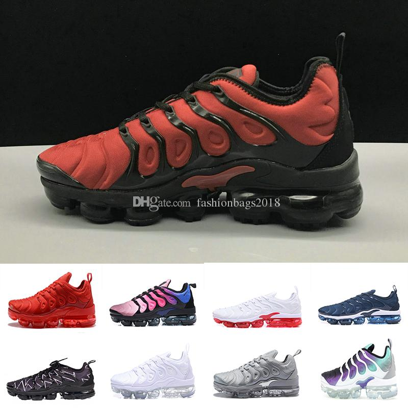 online retailer 9904c b46b6 2018 New Color Plus TN VM Olive Run In Metallic Mens Designer Shoes Men  Running Trainers Women Luxury Brand Sneakers Top Running Shoes Running Shoes  Online ...