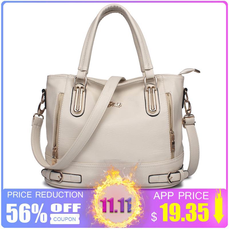 2019 Fashion ZMQN Luxury Handbags Women Bags Designer 2018 Bags Handbags  Women Famous Brands High Quality PU Leather Soft Leather Bag A806 Shoulder  Bags For ... 473e85b1c5234