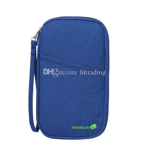 Reisepass Kredit ID Kartenhalter Brieftasche Multifunktions Überse Dokumente Tasche Mode Reisen Gehen Sie ins Ausland Geldbörse 5 Farben C3624