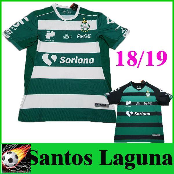 d12eed077 2019 2019 Club Santos Laguna Home Soccer Jerseys 18 19 MEXICO Club Santos  Green Football Shirts Laguna Football Uniform New Hot Sale From  Soccer shirt
