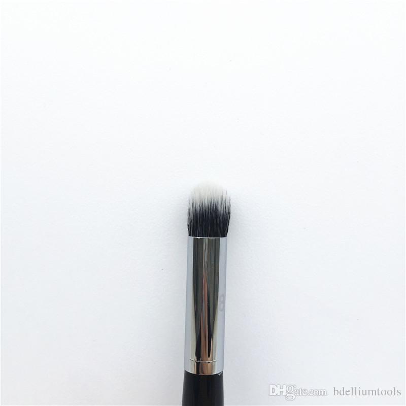 Pro Contour Highlight Brush # 80 - فرشاة مزج خافي العيوب من الألياف المزدوجة - فرش الماكياج