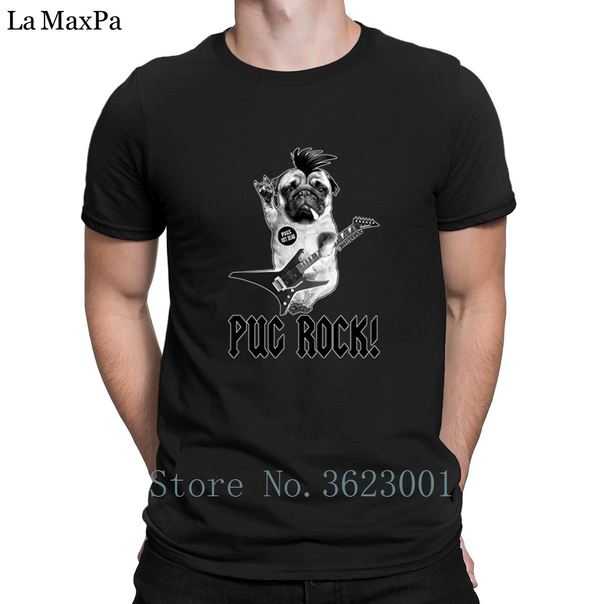 81ab4df331d Printing Kawaii Men S Tshirt Pug Rock Mens Tee Shirt Nice Awesome Men T  Shirt Tee Top Men S T Shirt Cotton Simple Basic Solid T Shirt Buy Cool T  Shirt ...
