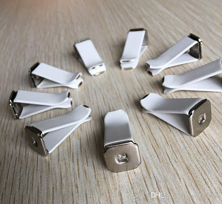 100 pçs / lote Carro Ornamento ABS clipe Automotivo Vents Perfume Flavoring Clipe Decoração DIY Auto Ar Condicionado Clipes de Tomada Acessórios