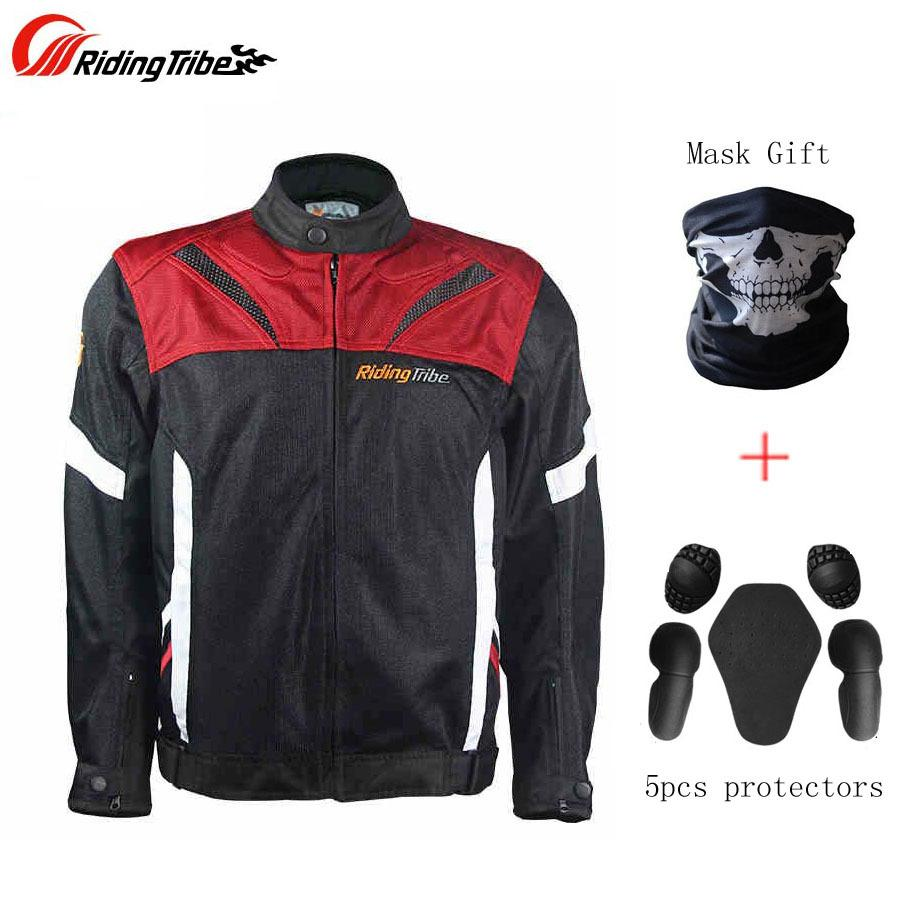 Compre Riding Tribe Chaquetas De Carreras De Motos Ropa Cuerpo Armadura  Protectora Motocross Impermeable Chaqueta De Moto De Verano Con Regalos A   174.25 ... 55f1ba3dcff96