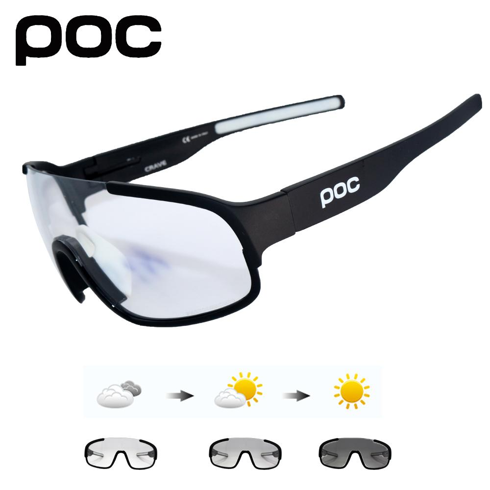 91c3ce83ff Crave 5 Lens UV400 Photochromic Brand Cycling SunGlasses Mountain ...