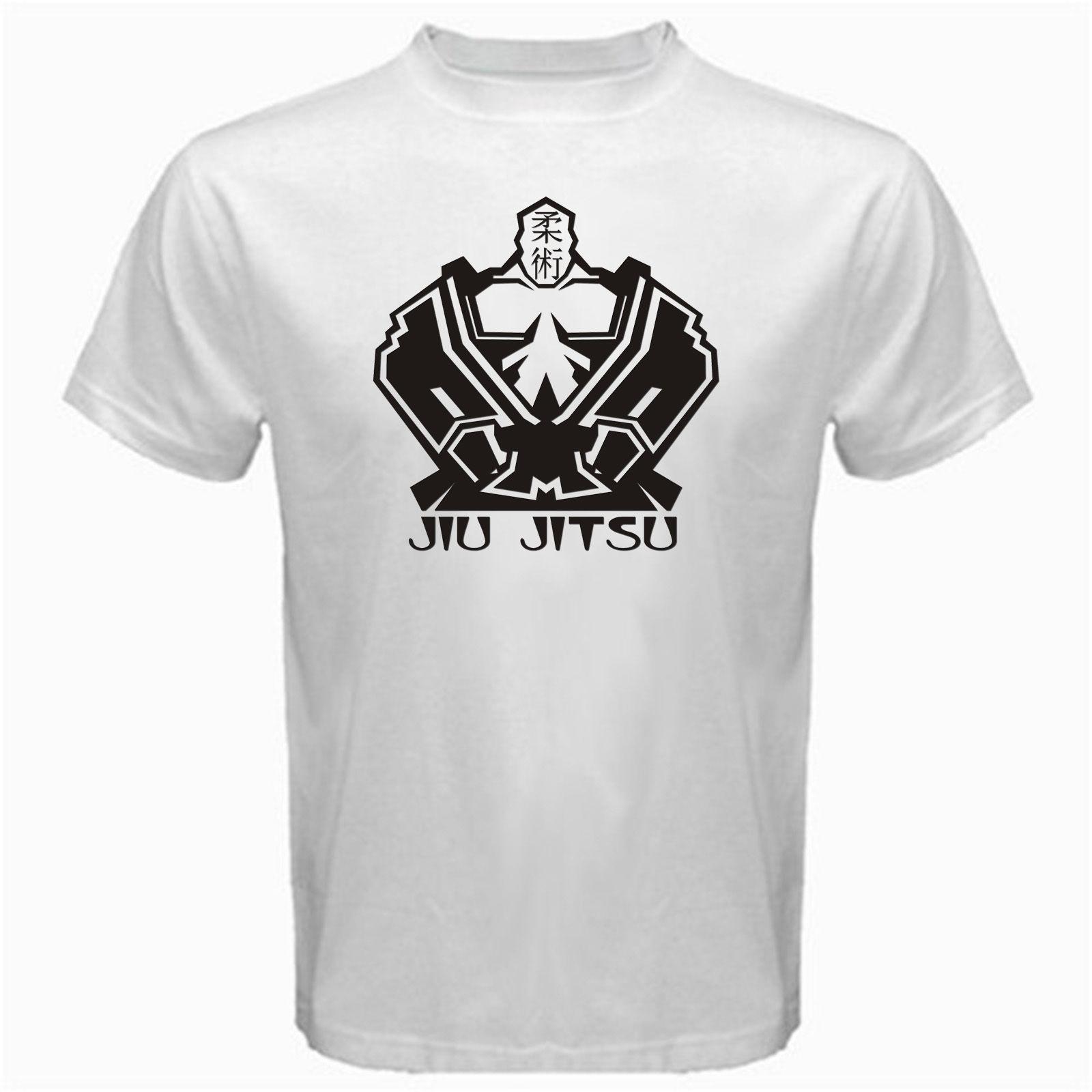324d3bea99b Brazilian Jiu Jitsu Martial Art Jiujitsu Karate Judo Aikido T Shirt White  Long Sleeve Shirts Men Shirts From Bstdhgate