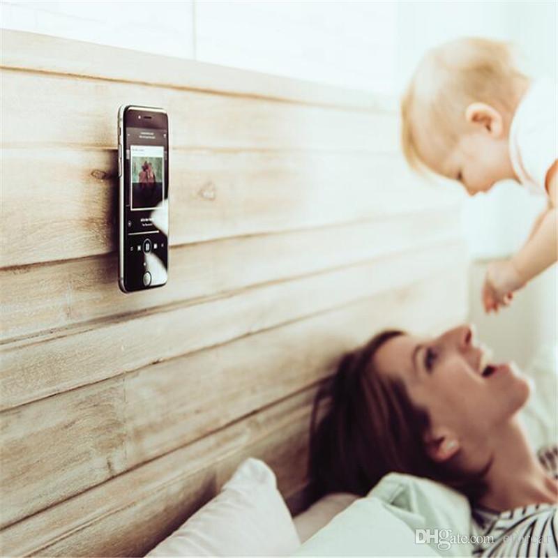 ربط الهاتف الخليوي لاصق للسيارة الهواء تنفيس جدار المكتب العالمي الهاتف يتصاعد كليب المشبك حامل