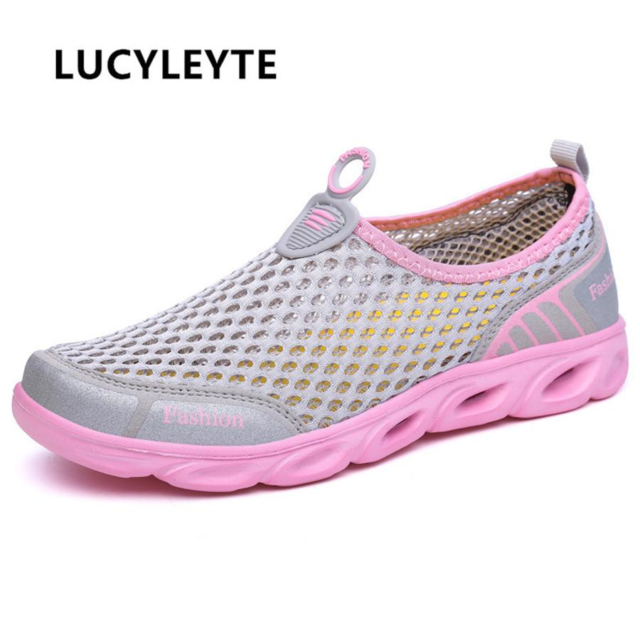 cd2ff59c5db1 2019 Outdoor Wading Spring And Summer Amphibious Wading Shoes Anti Skid  Breathable Outdoor Mesh Material EVA Soles Swimming Shoes From  Youping198439