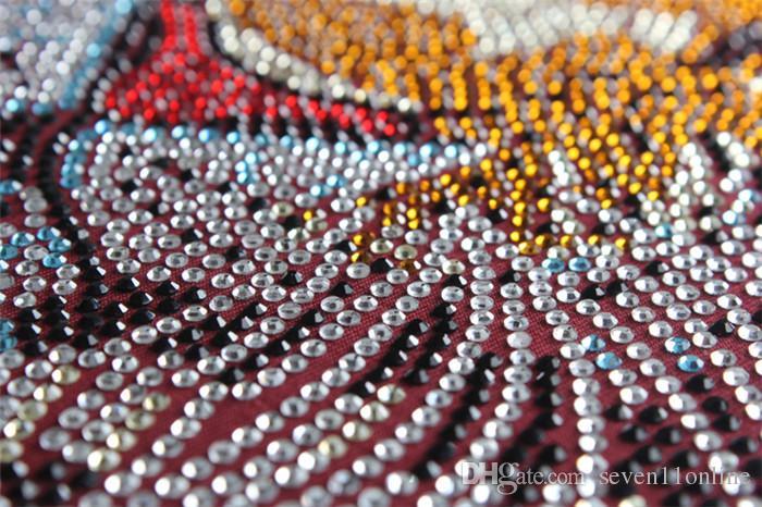 2021 алмазы высшего качества мужские черный цвет короткие футболки с роскошным тигрем буквы алмазные повседневные хлопчатобумажные рубашки с коротким рукавом футболки бренда белые топы