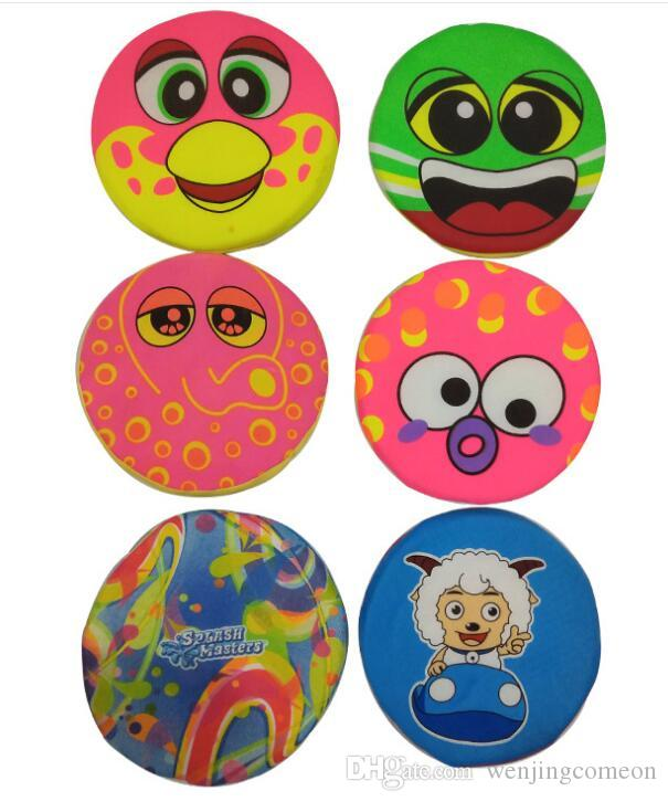 Cloth Soft Flying Discs Toys for Boys Girls Baby Toys Outdoor Sports Kids Toys Family Game Parent-child Beach Flying Disk