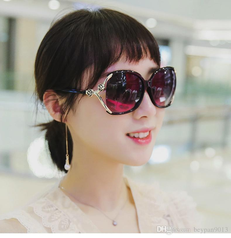 eae7f45d89e 2019 Sexy Oversized Sunglasses Women Vintage 2018 Lens Luxury Brand Sun Glasses  For Female Rose Big Frame Male Shades From Beypan9013