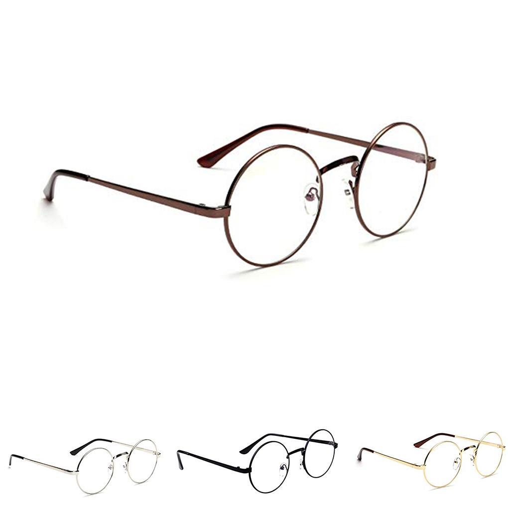 Compre Unisex Coreano Vintage Óculos Redondos Armação De Metal Espetáculos  Limpar Lens Eye Glasses Acessório De Marquesechriss,  37.27   Pt.Dhgate.Com 92f1daf723