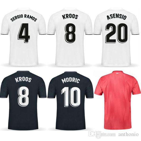 new styles 5976c 47d03 LIGA FONT 2018/19 REAL MADRID VINICIUS JR KROOS BALE MODRIC thai quality  soccer jersey thailand football jerseys soccer jerseys uniforms