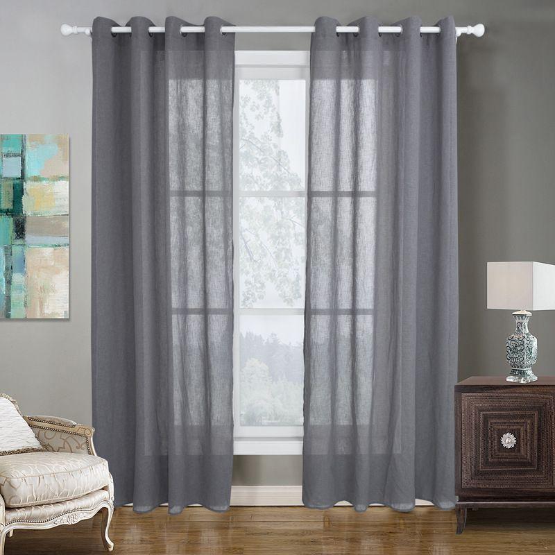 8003 Moderne Gardinen für Wohnzimmer Schlafzimmer Vorhänge für  Fensterbehandlungsvorhänge Grün fertige Verdunkelungsvorhänge 1 Platte