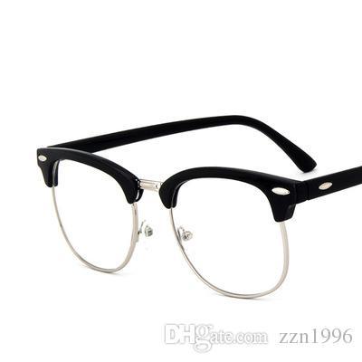 564e9125f8 Fashion Optical Glasses Transparent Lens Myopia Eyeglasses Women Vintage  Metal Spectacles Womens Designer Eyeglass Frames For Women And Men Designer  ...