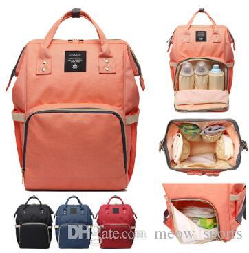 662e6d9467ad Fashion Mommy Bag Backpack Multi Function Large Capacity Mother Pack the  Same Mother Baby Packs Waterproof Baby Mummy Bag Backpack Mother Baby Bag  Online ...