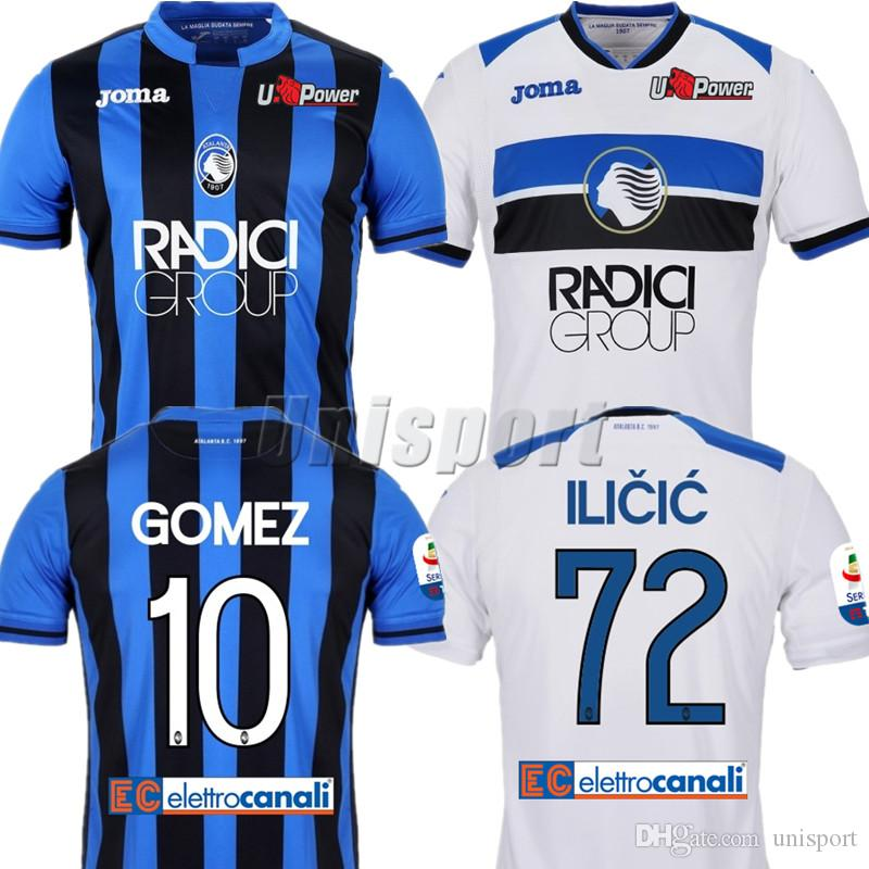 2019 2018 19 Atalanta Soccer Jerseys Gómez Ilicic Rigoni Futbol Camisa  Football Camisetas Shirt Kit Maillot Serie A From Unisport 0484bbd9e