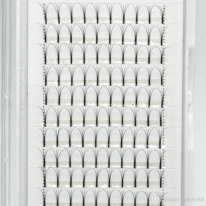 12 estensioni dei cigli del volume di Preade del premade di Box delle linee 4D Estensione professionale dei cigli i professionisti Kit di estensione professionale del ciglio Trasporto libero