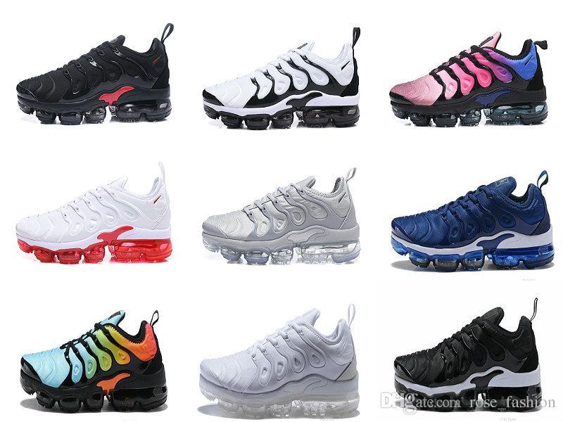 buy online 17536 e816c Compre Air 2018 TN Maxes Plus Volt Men Zapatos De Diseñador Retuned Olive  Metallic Silver Hyper Violet BETRUE Photo Blue Sports Sneakers Zapatillas  De ...