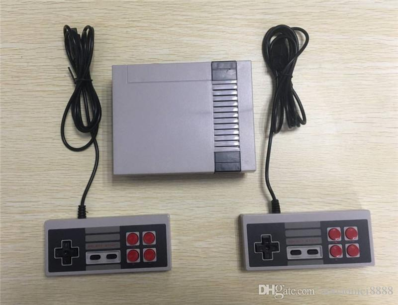 DHL Nostalgic Host Four buttons Mini TV Game Console Video Handheld for NES games consoles with Small retail boxs B-JY