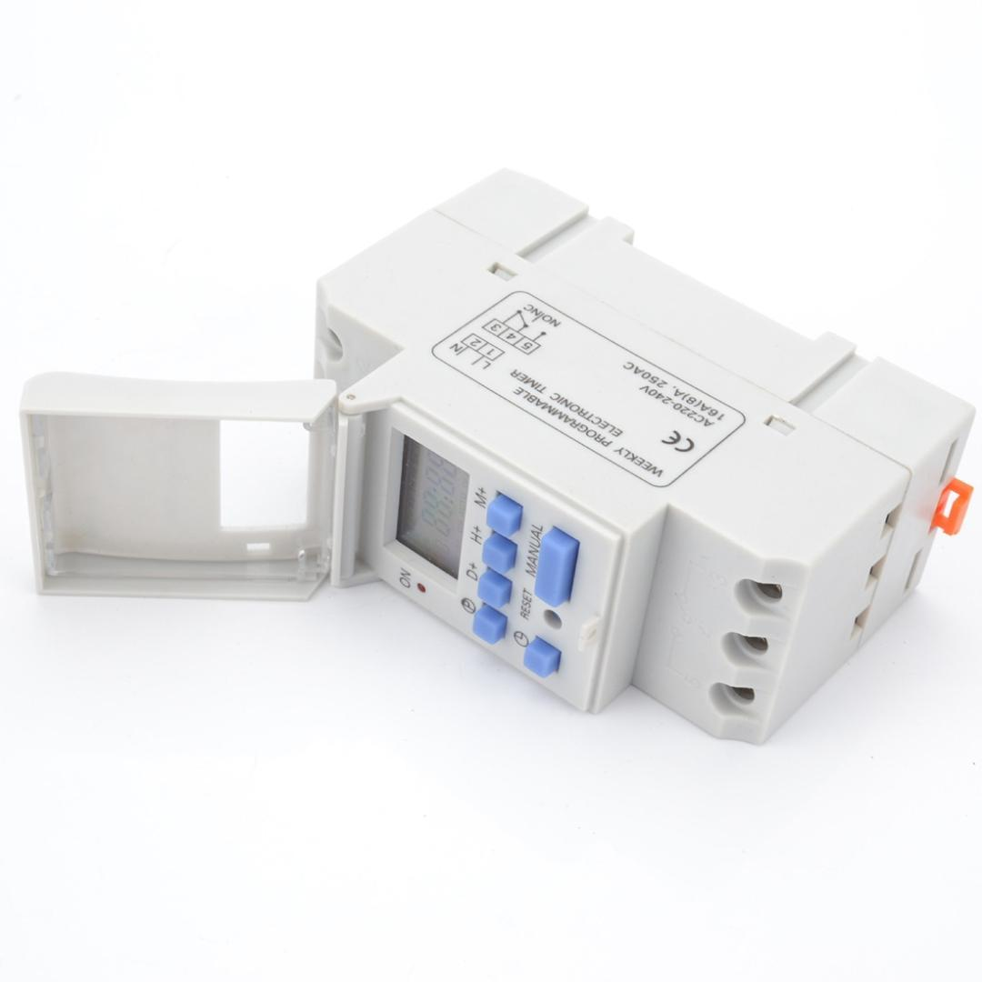 Relay Control Electronic Weekly 7 Days Programmable Digital Timer Switch 220v 230v 6 30a Safe And Reliable Timers Cheap