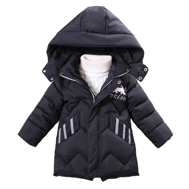65c5d9641 Boys Winter Jackets 2018 Kids Warm Down Parkas Vest Children S ...