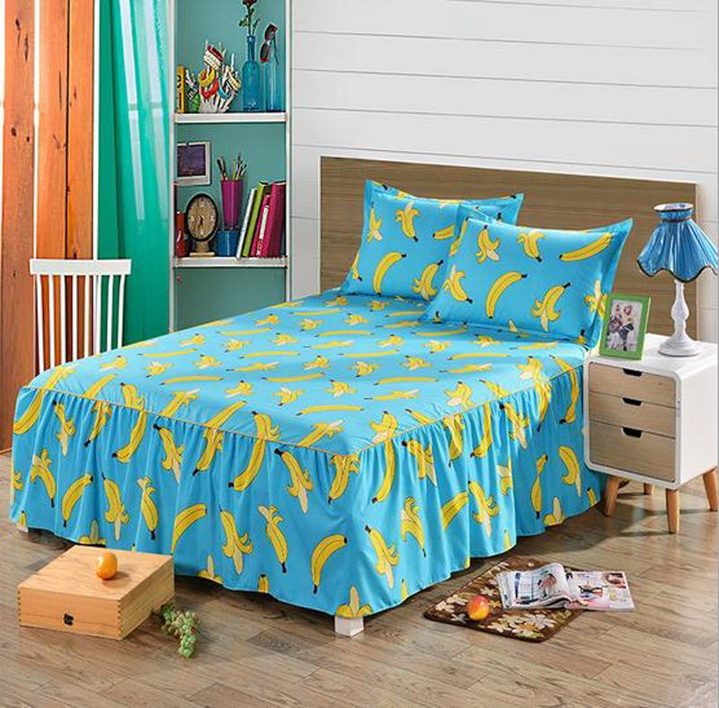 Bed Skirts Twin Full Queen King Size Bedspread Mattress Cover Sheets