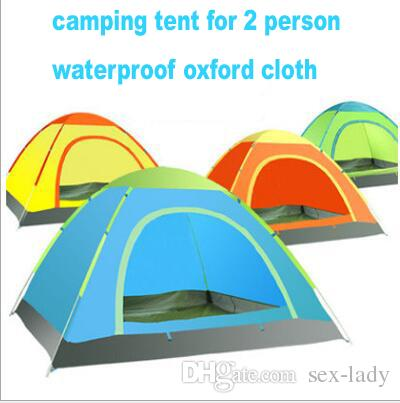 Camping Beds For Tents >> Outdoor Portable Waterproof Hiking Camping Tent Anti Uv 2 Person
