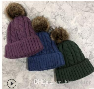 fc802068e8c 11cm Artificial Pom Pom Color Faux Fur Pompom For Knitted Beanie Skullies Cap  Hat Imitation Fur Ball Christmas Gift Women Hats Cool Beanies From  Hiphopking