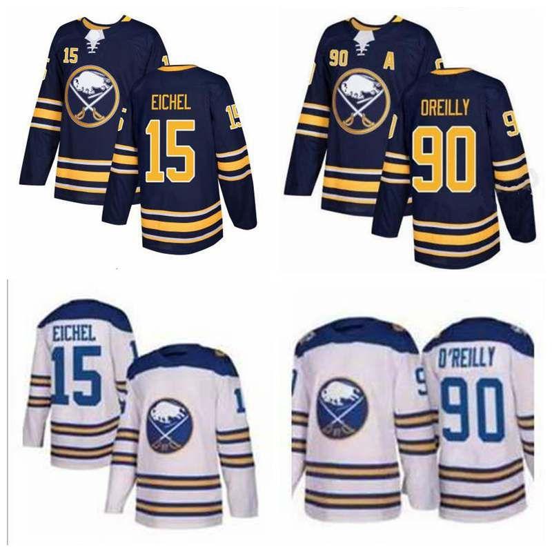 2017 2018 new buffalo sabres 15 jack eichel jerseys 90 ryan oreilly mens ice hockey jerseys