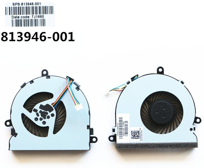New laptop CPU cooling fan for CPUFAN HP 15-ac065tx ac165TX ac601 ac068TX ac078TX ac073TX ac043tx ac066tx ac067tx ac165tx TPN-C125 TPN-C126