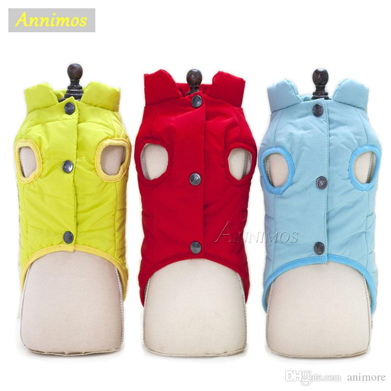 2018 Newest Pet Dog Classical Vest Winter Warm Clothes Down Jacket and Coat for Small Puppies Chihuahau Yorkshire Clothing Cheap Appareal