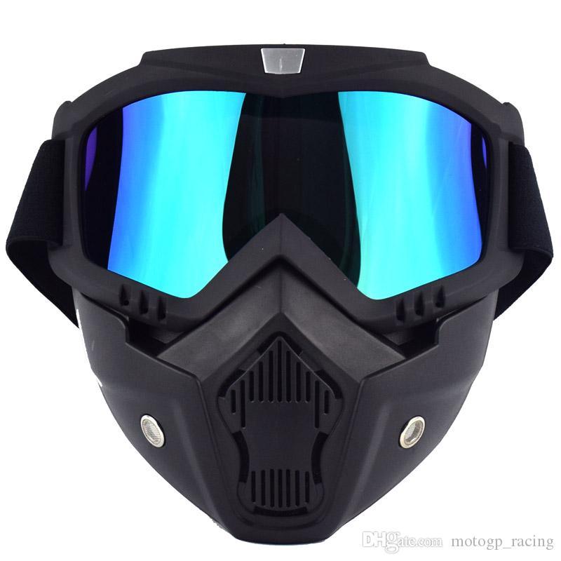 Lunettes de Motocross TPU R/ésine Coupe-Vent Protection UV Lunettes pour Moto lentille Claire v/élo Hors Route Cyclisme Goggle Ski