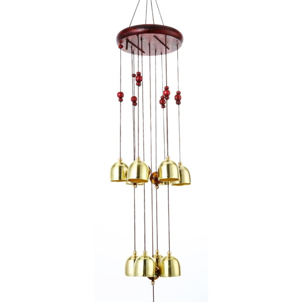 campanelli eolici all'aperto Antique Windchime Copper Yard Garden Outdoor Living Room Metal Wind Chimes Ornamenti appesi Campane
