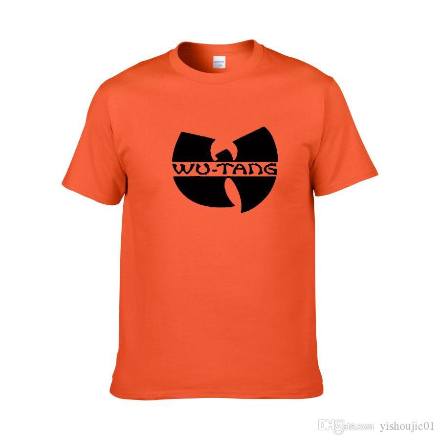 Men Summer Fashion New Wu Tang Clan T-shirts Music Hip Hop Tshirts European big Size Cotton T Shirts XS-XXL