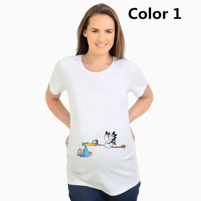 Acquista Top Maternità Ragazzi Baffi O Ragazze Labbra T Shirt Donne Incinte  Estate Maternità T Shirt Gravidanza Vestiti Magliette Manica Corta A  30.14  Dal ... 3f3f1691dec