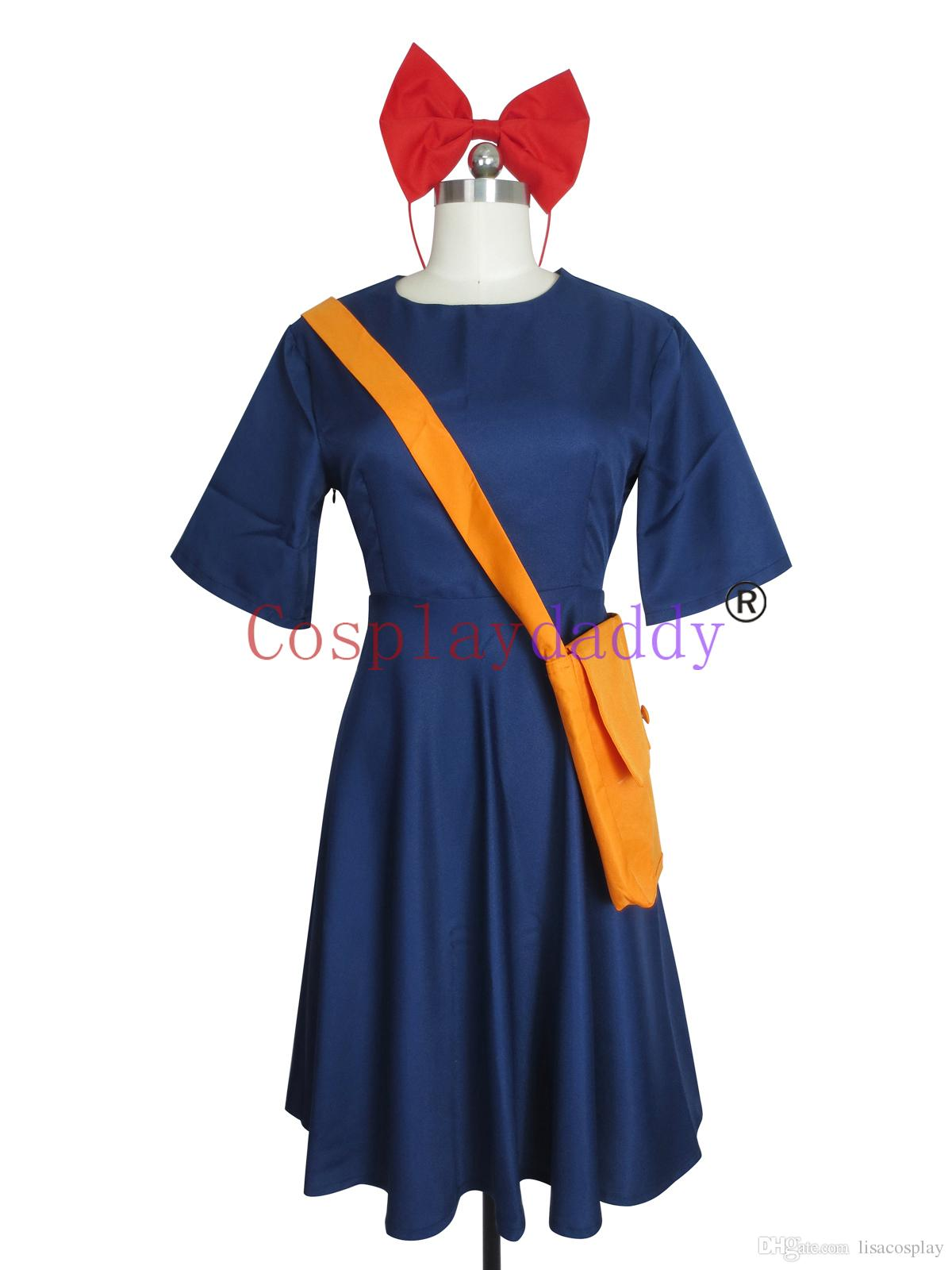 Kiki S Delivery Service Kiki Daily Wearing Dress Cosplay Costume Full Set  Cheap Anime Clothes Best Cosplay Shop Online From Lisacosplay 6693fc51e931