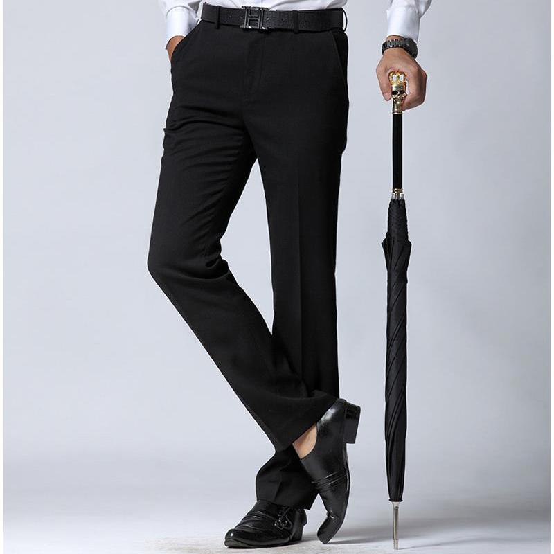 2019 2016 New Mens Pants Mens Dress Pants Skinny Straight Suit
