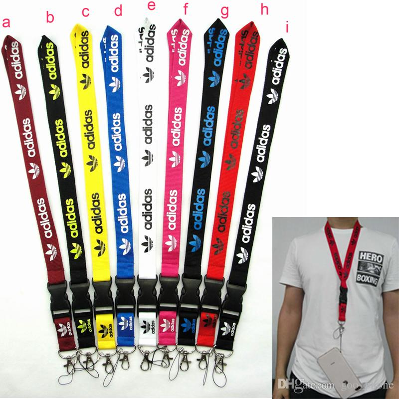 Detachable Cell Phone Neck Lanyard Key Chain Strap with Adi Logo Sport Clothes Gift VS Love PINK lanyards