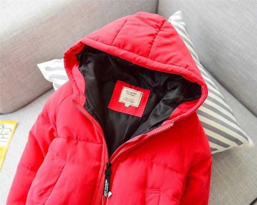 a43d61526ce6 Baby Girls Winter Coat Set Will Child Candy Color Long Sleeve Even ...