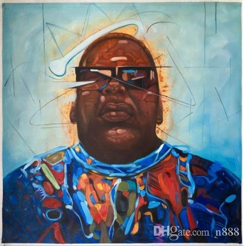e1a9e04166 2019 Alec Monopoly Oil Painting On Canvas Graffiti Wall Art Home Decor Biggie  Smalls Notorious BIG Handpainted   HD Print Multi Size P18 From N888