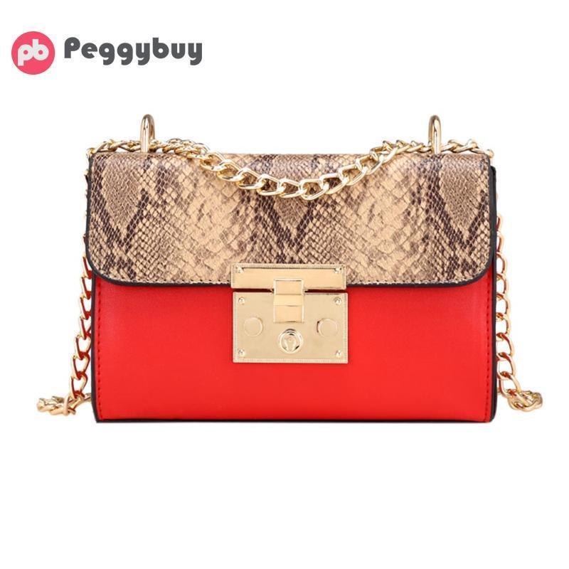 ef303b80f36b 2018 Women Snake Crossbody Bag PU Leather Fashion Summer Shoulder Messenger  Bag Handbags Female Shoulder Bags Lady leopard Totes Y18102403