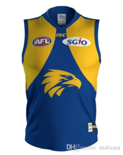 1e820199701 2019 Hot Sales 2019 West Coast Eagles AFL Jersey Singlet Vest ISC  PREMIERSHIP GUERNSEY Rugby Jerseys League Jersey Leisure Sports Shirt From  Mufasaa, ...
